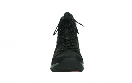 wolky ankle boots 03026 ambient 11000 black nubuck_7