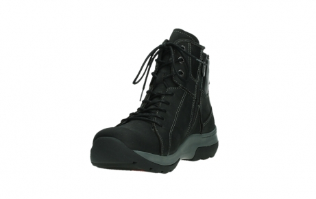 wolky ankle boots 03026 ambient 11000 black nubuck_9