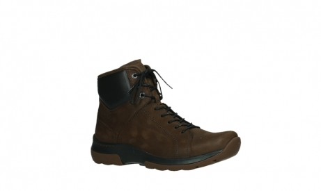 wolky ankle boots 03026 ambient 11410 tobacco brown nubuckleather_3