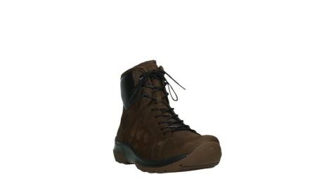 wolky ankle boots 03026 ambient 11410 tobacco brown nubuckleather_5