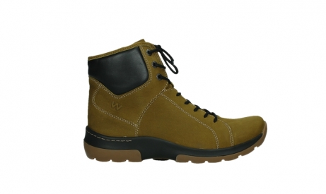 wolky ankle boots 03026 ambient 11940 mustard nubuckleather_1