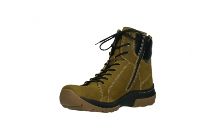 wolky ankle boots 03026 ambient 11940 mustard nubuckleather_10