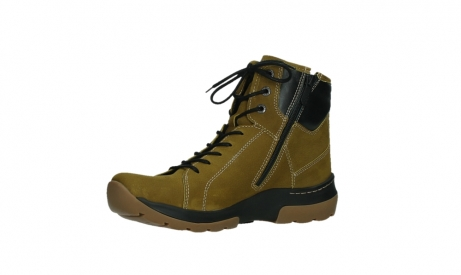 wolky ankle boots 03026 ambient 11940 mustard nubuckleather_11