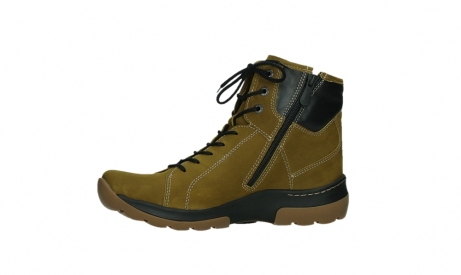 wolky ankle boots 03026 ambient 11940 mustard nubuckleather_12