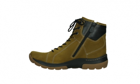 wolky ankle boots 03026 ambient 11940 mustard nubuckleather_13