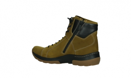 wolky ankle boots 03026 ambient 11940 mustard nubuckleather_15