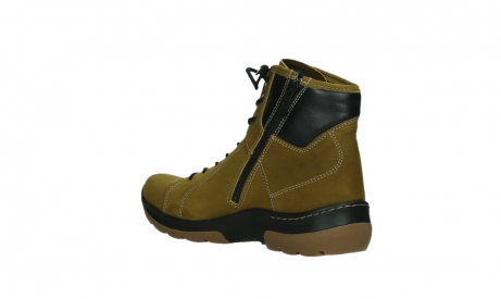 wolky ankle boots 03026 ambient 11940 mustard nubuckleather_16