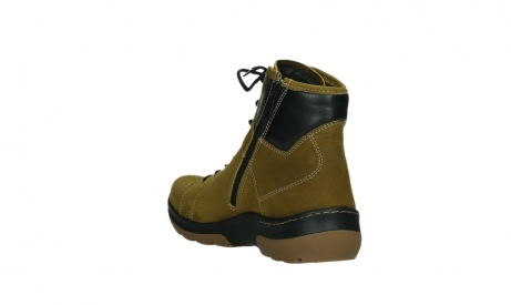 wolky ankle boots 03026 ambient 11940 mustard nubuckleather_17