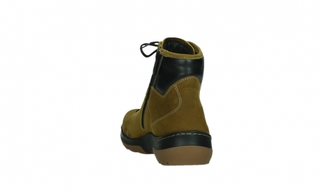 wolky ankle boots 03026 ambient 11940 mustard nubuckleather_18