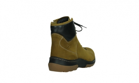 wolky ankle boots 03026 ambient 11940 mustard nubuckleather_21