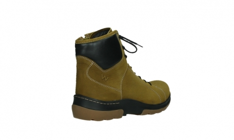 wolky ankle boots 03026 ambient 11940 mustard nubuckleather_22