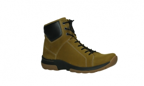 wolky ankle boots 03026 ambient 11940 mustard nubuckleather_3