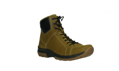 wolky ankle boots 03026 ambient 11940 mustard nubuckleather_4