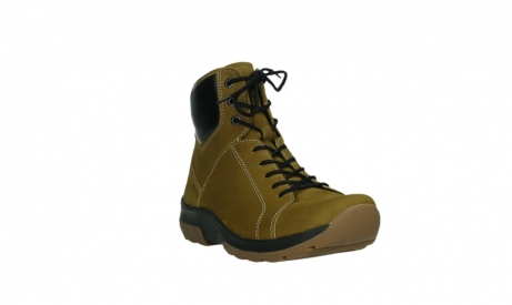 wolky ankle boots 03026 ambient 11940 mustard nubuckleather_5