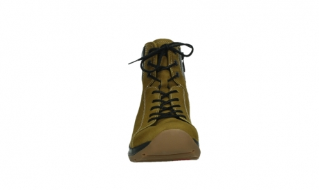 wolky ankle boots 03026 ambient 11940 mustard nubuckleather_7