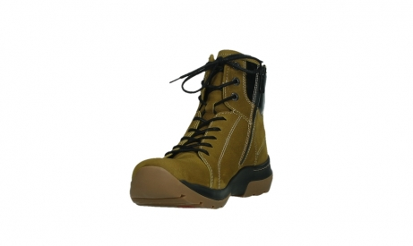 wolky ankle boots 03026 ambient 11940 mustard nubuckleather_9