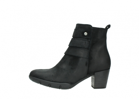 wolky ankle boots 03677 willmore 40001 black suede_1
