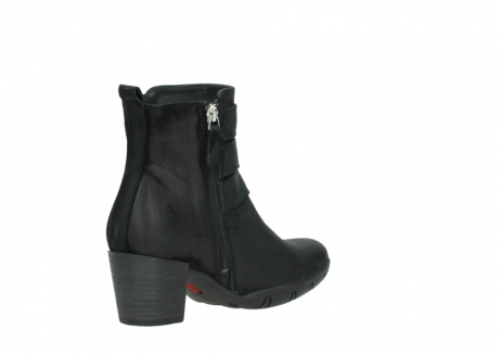 wolky ankle boots 03677 willmore 40001 black suede_10