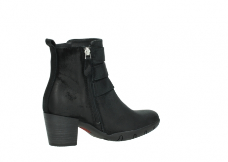 wolky ankle boots 03677 willmore 40001 black suede_11