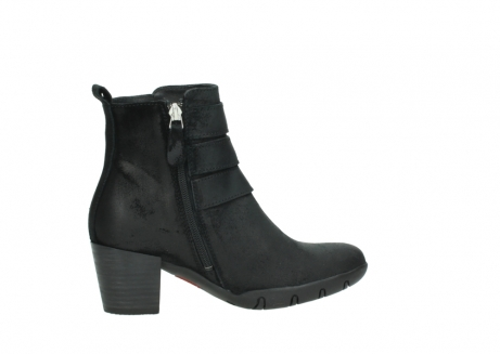wolky ankle boots 03677 willmore 40001 black suede_12