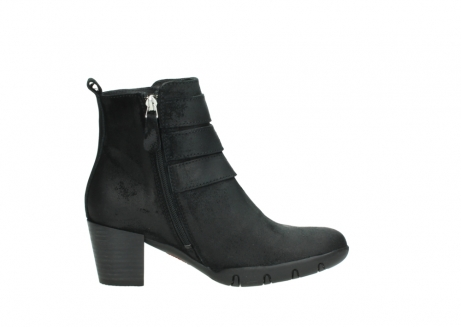 wolky ankle boots 03677 willmore 40001 black suede_13