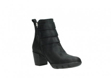wolky ankle boots 03677 willmore 40001 black suede_16