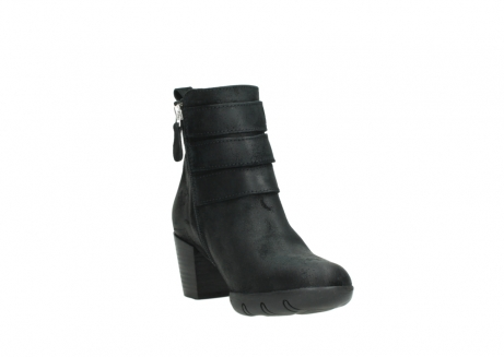 wolky ankle boots 03677 willmore 40001 black suede_17