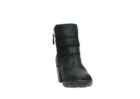 wolky ankle boots 03677 willmore 40001 black suede_18