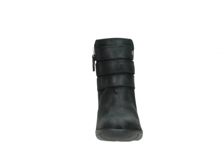 wolky ankle boots 03677 willmore 40001 black suede_19