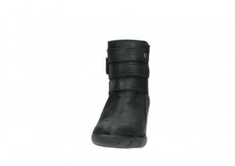 wolky ankle boots 03677 willmore 40001 black suede_20