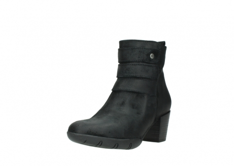 wolky ankle boots 03677 willmore 40001 black suede_22