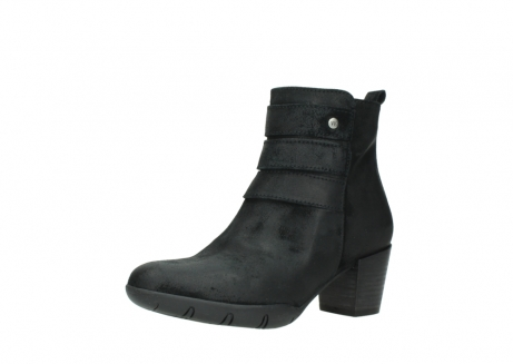 wolky ankle boots 03677 willmore 40001 black suede_23