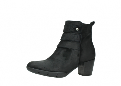 wolky ankle boots 03677 willmore 40001 black suede_24