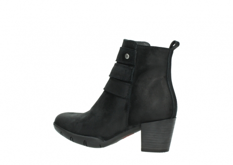 wolky ankle boots 03677 willmore 40001 black suede_3