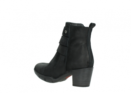 wolky ankle boots 03677 willmore 40001 black suede_4