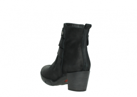 wolky ankle boots 03677 willmore 40001 black suede_5