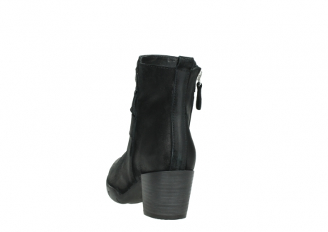 wolky ankle boots 03677 willmore 40001 black suede_6