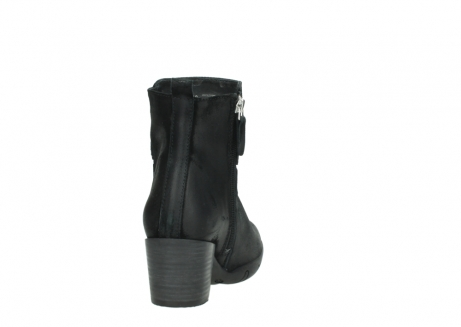 wolky ankle boots 03677 willmore 40001 black suede_8