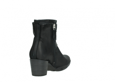 wolky ankle boots 03677 willmore 40001 black suede_9