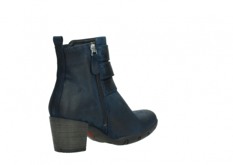 wolky ankle boots 03677 willmore 40801 blue suede_10