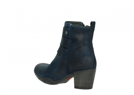 wolky ankle boots 03677 willmore 40801 blue suede_4