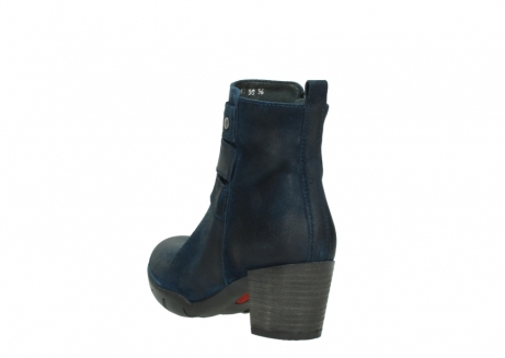wolky ankle boots 03677 willmore 40801 blue suede_5