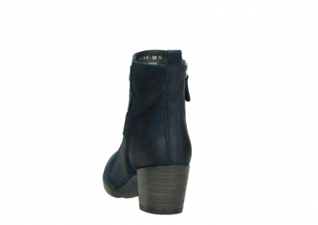 wolky ankle boots 03677 willmore 40801 blue suede_6