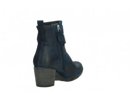 wolky ankle boots 03677 willmore 40801 blue suede_9