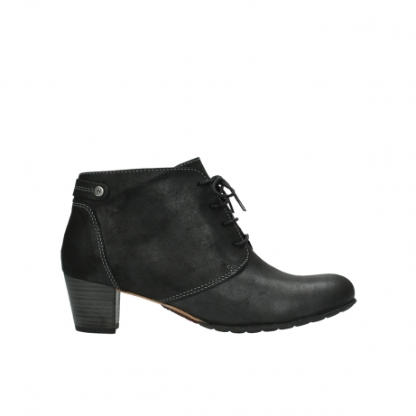 wolky bottines 03751 ball 10210 cuir anthracite