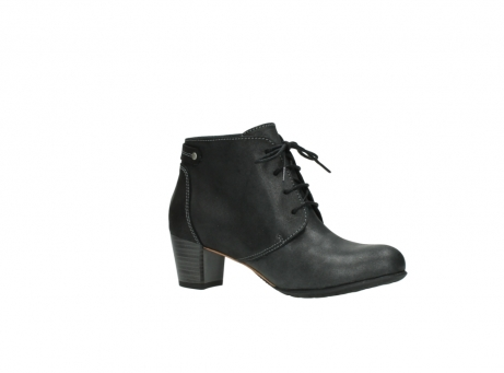 wolky ankle boots 03751 ball 10210 mottled metallic anthracite leather_15