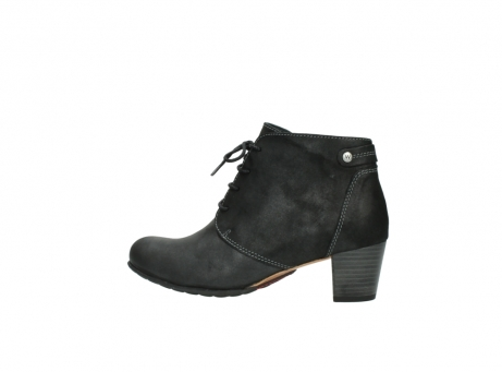 wolky ankle boots 03751 ball 10210 mottled metallic anthracite leather_2