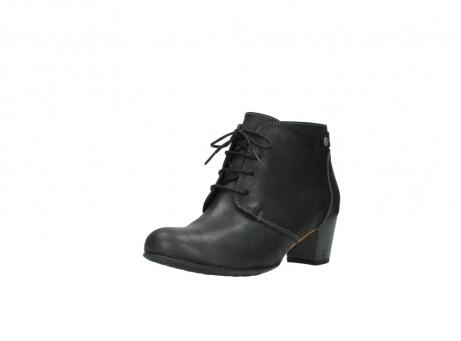 wolky ankle boots 03751 ball 10210 mottled metallic anthracite leather_22