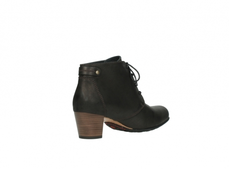wolky ankle boots 03751 ball 10300 mottled metallic brown leather_10