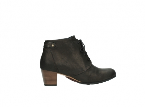 wolky ankle boots 03751 ball 10300 mottled metallic brown leather_12